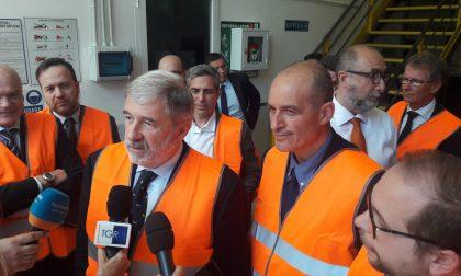 Bucci in visita alla sede di Altra SpA: bus elettrici a Levante