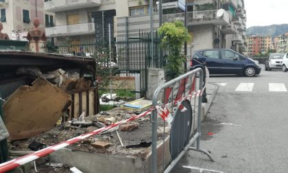 Rocambolesco incidente a Rapallo