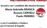 """Europee ed Amministrative: le «alternative reali» di """"Rapallo in Comune"""" e """"La Sinistra"""""""