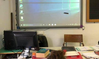 Due lavagne interattive multimediali donate alla scuola di Gattorna