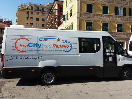 Free CityBus Rapallo, ampliato il servizio