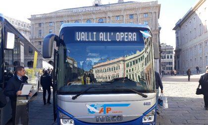 """Da Levante al Carlo Felice in Corriera: torna il servizio """"Le Valli all'Opera"""""""