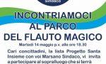 Flauto Magico, recupero del parco, Marsano: «Donadoni se lo ricorda solo in campagna elettorale»