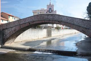 Restauro del ponte sul Gromolo a Sestri Levante