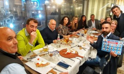 Rapallo, Muzio e Bagnasco a cena con i candidati di Forza Italia