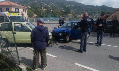 Incidente a Caperana, traffico in tilt