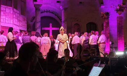 Chiavari, ieri sera la Cavalleria Rusticana in piazza