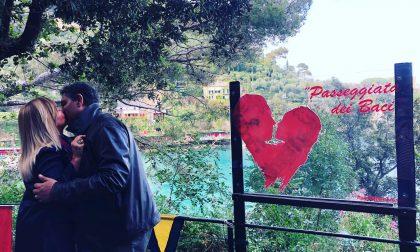 Riaperta ieri la Passeggiata dei Baci a Portofino: Toti la inaugura così