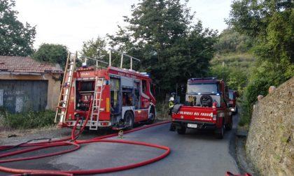 Brucia appartamento a Santa Giulia