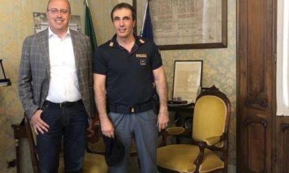 Di Capua incontra Fabbri, il nuovo comandante della Polizia Stradale di Chiavari