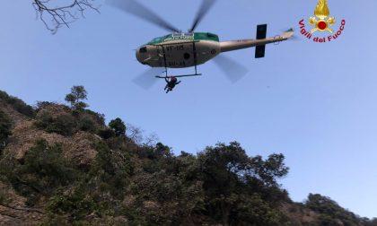 Escursioniste soccorse sul Monte di Portofino