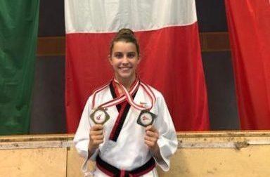 Taekwondo, trionfa all'Austria Open di Vienna la chiavarese Magdalena Greco