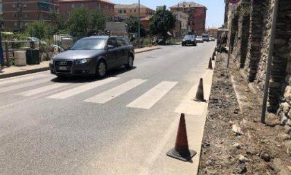 Incidente in Salita San Lazzaro, traffico bloccato
