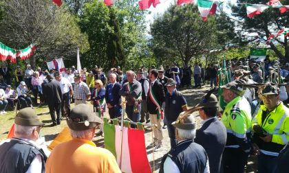 Festa della Repubblica sul monte Cornua insieme agli alpini