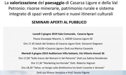 Casarza Ligure, workshop sulla valorizzazione del paesaggio in Val Petronio