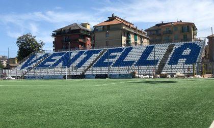 Entella, oggi il match amichevole contro la Lazio