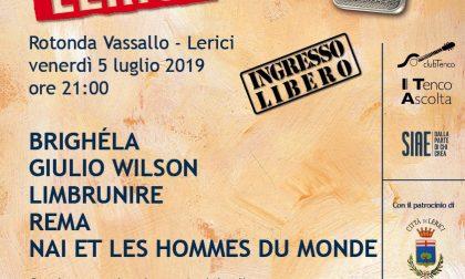 """""""Tenco Ascolta"""": domani a Lerici i live del Club Tenco con Lo Stato Sociale"""