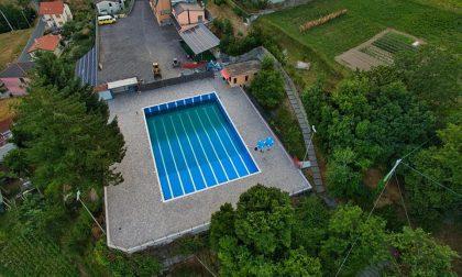 Lumarzo, riapre la piscina