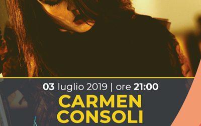 Stasera Carmen Consoli al Festival Internazionale di Nervi