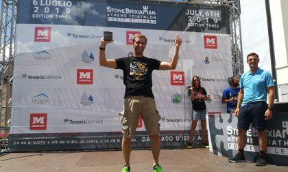 Federico Roncagliolo di Rapallo vince la terza edizione di StoneBrixiaMan