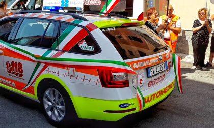 Inaugurata la nuova automedica dei Volontari del Soccorso di Sestri