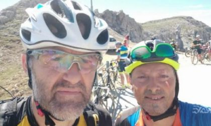 Alla corsa in bici con l'uomo che ha guarito dalla leucemia
