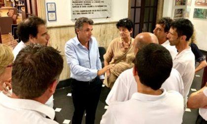 Porto Carlo Riva, Bagnasco ha incontrato cittadini e operatori