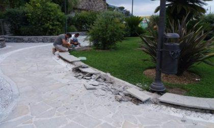 Recco, iniziati i lavori sul Belvedere Luigi Tenco