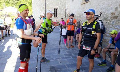 L'avventura di Stefano Camarda durante la gara Alvi Trail Liguria