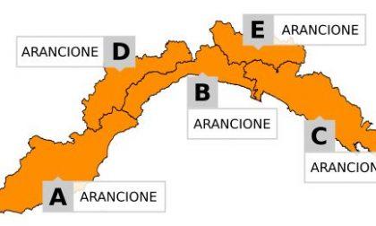 Allerta meteo arancione sino alle 15, poi gialla sino alle 17