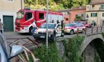 Calo di pressione, ambulanza contro un palo