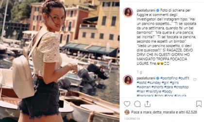 Estate, tempo di vip: Paola Turani a Portofino