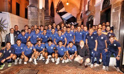 Virtus Entella, presentazione della squadra in piazza Fenice