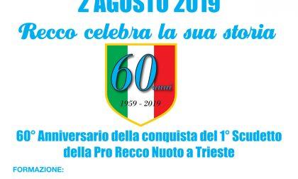 Oggi si celebrano i 60 anni dal primo scudetto targato Pro Recco