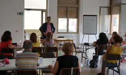 Santa Margherita Ligure, il saluto del Sindaco agli stranieri a lezione d'italiano