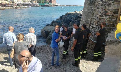 Ragazzino resta fulminato in spiaggia a Rapallo, è gravissimo