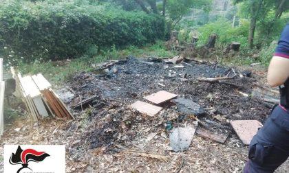 Incendio rifiuti a Zoagli, denunciato custode condominio