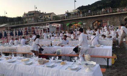 Tutti in bianco a Moneglia per la cena dedicata