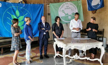 Record di bandiere a Lavagna: Blu, Verde e Spiga Verde