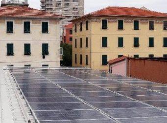 Lavagna, l'impianto fotovoltaico nella scuola don Gnocchi