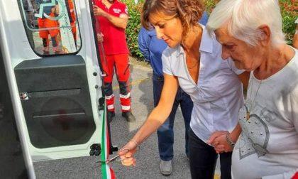 Cicagna, Croce Rossa in festa per il nuovo mezzo