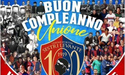 L'Unione Sportiva Sestri Levante 1919 festeggia un secolo di storia