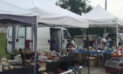 Mercato di merci varie a Moconesi con il sostegno della Croce Rossa di Gattorna