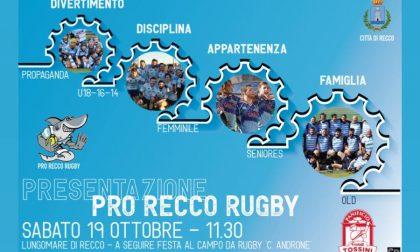 La Pro Recco Rugby presenta la nuova stagione sportiva