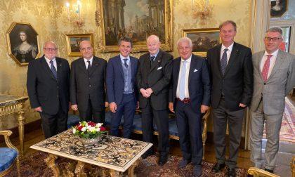 Visita ufficiale al Sovrano dell'Ordine di Malta
