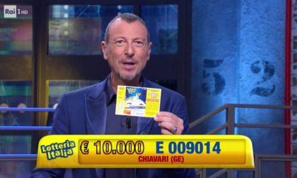 Lotteria abbinata ai Soliti Ignoti,  a Chiavari il biglietto vincente da 10mila euro