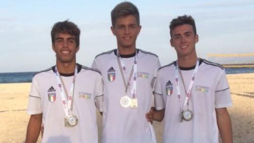 I ragazzi del Marconi-Delpino argento ai mondiali di beach volley