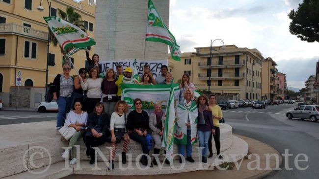 Casa di riposo Gianelli, la protesta delle dipendenti IL VIDEO