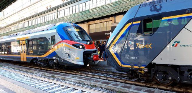 Trenitalia, debuttano i treni Rock e Pop