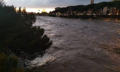 Il fiume Entella è uscito dagli argini